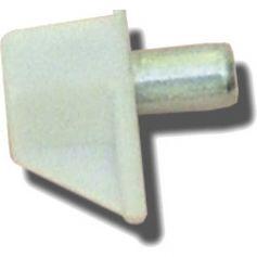 Portaestante Safety 5mm blanco (100 unidades) Micel