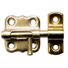 Pasador de hierro 40mm latonado Micel