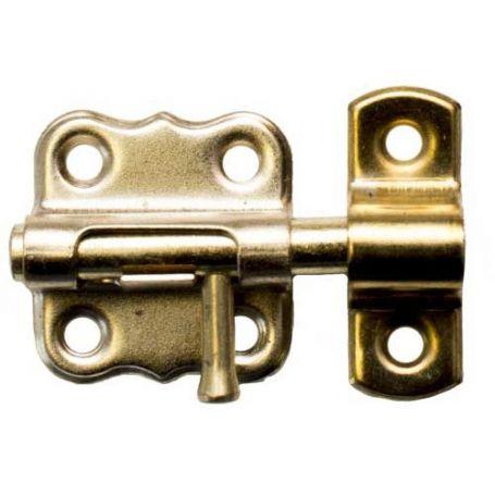 Pasador de hierro 60mm latonado Micel