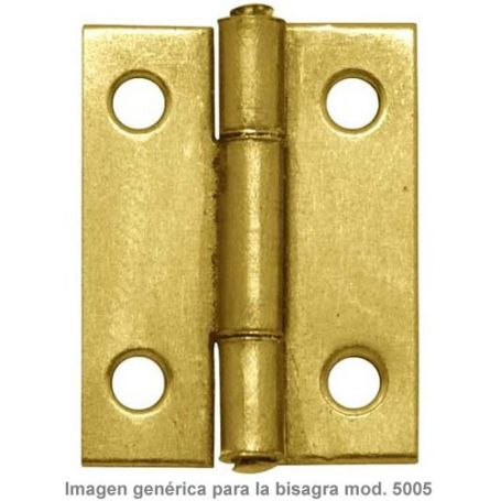 "Bisagra 5005 2""1/4 56x31mm latonado Micel"
