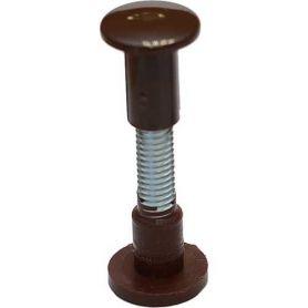 Tornillo de ensamble 34-44mm plástico marron (100 unidades) Micel