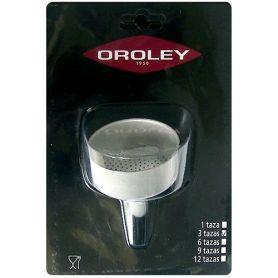 Embudo para cafetera de 1 taza Oroley