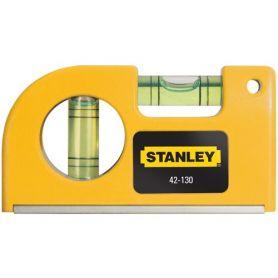 Nivel de burbujas de bolsillo magnético Stanley 87mm