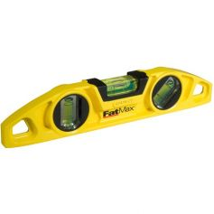 Nivel torpedo Stanley Fatmax 22cm magnético