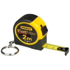 Mini flexómetro Stanley Fatmax llavero 2m x 13mm