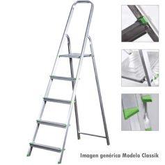 Escalera de aluminio Ferral Classik 6 peldaños domestica 150kg