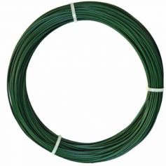 Alambre plastificado verde 2,4mm x 25mt intermas
