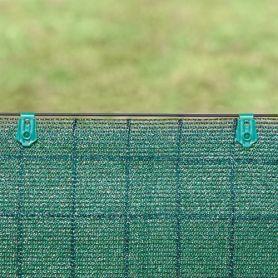 Pinza de fijacion para mallas Fixatex verde (20 und) intermas