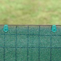 Pinza de fijacion para mallas fixatex verde