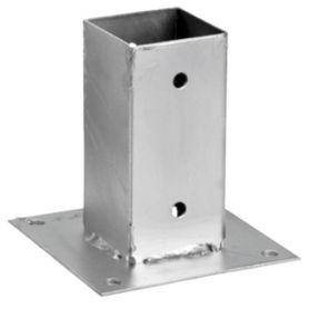 Anclaje metálico para cemento 9x9 cm intermas