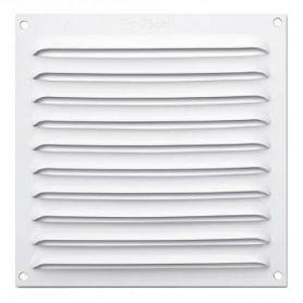 Rejilla ventilacion plana Blanca 17x17 orfesa