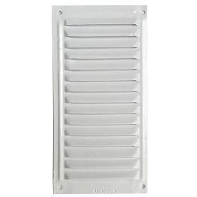 Rejilla ventilacion planaBlanca 20x10 orfesa
