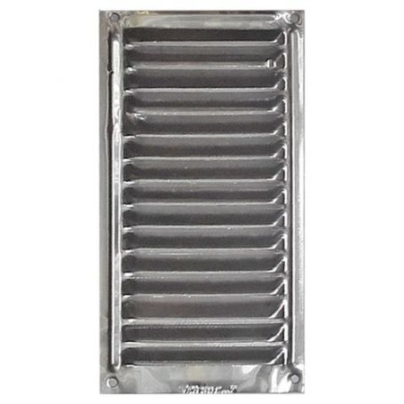 rejilla gas aluminio