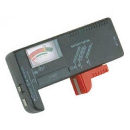 Comprobador de pilas y baterias 1.5 y 9v DH