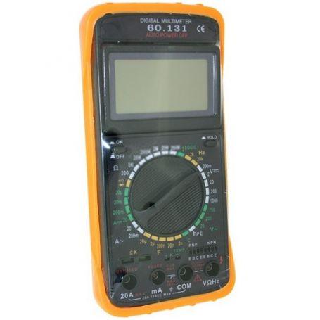 Multimetro digital con medidor de frecuencia DH