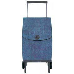 Carro de la compra Plegamatic Orbita Vaquero Azul Rolser