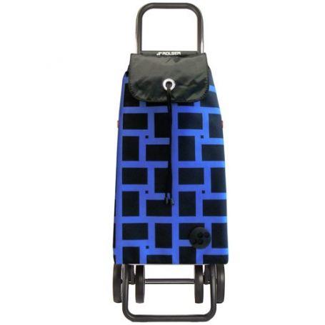 Carro de la compra I-Max Geometrik Logic Dos+2 Azul Rolser