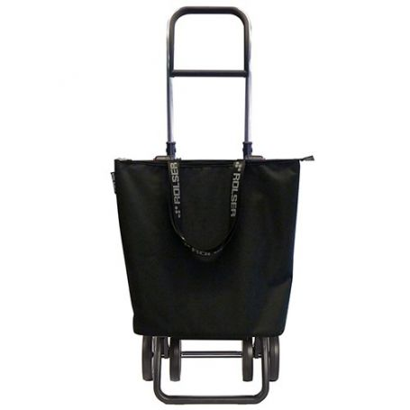 Carro de la compra Mini Bag Plus MF Logic Dos+2 Negro Rolser