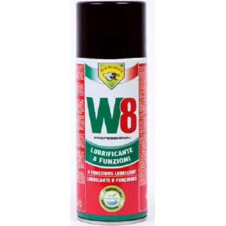 Lubricante W8 8 funciones 400ml