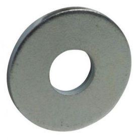 Arandela plana ancha 10mm cincada (blister 6 unidades) FER