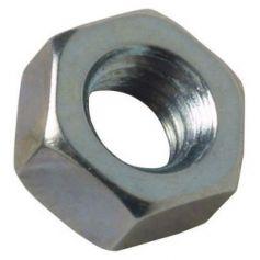 Tuerca hexagonal 5mm cincada (blister 30 unidades) FER