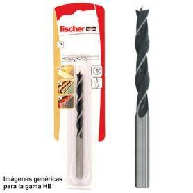 Broca para madera Fischer HB 6mm