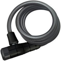 Candado de cable espiral antirrobo bici negro Primo 5510K Abus