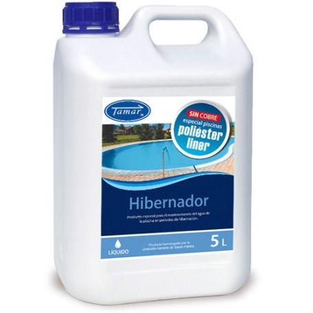 Hibernador liquido especial poliester 5 litros tamar