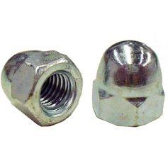 Tuerca ciega DIN 1587-HP 4mm zincado (caja 200 unidades) GFD