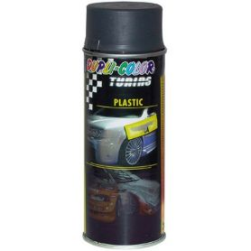 Pintura spray para plásticos 400ml antracita Motip