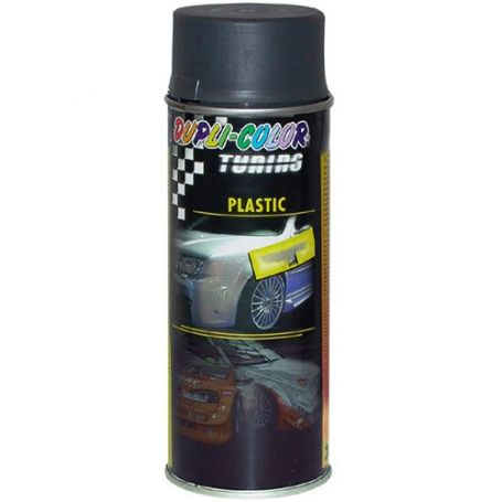 Pintura spray para plasticos 400 ml antracita motip