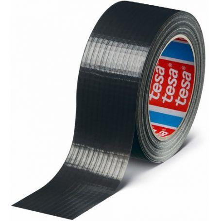 Cinta americana basic 4610 negro 25mx50mm plata tesa
