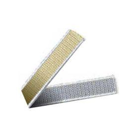 Cinta gris o beige cantos blanco 22 mm (cinta 6mts) cinbet