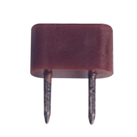 Tope dos puntas 10mm marrón Maestro
