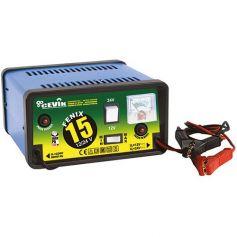 Cargador de bateria 12/24 voltios cevik
