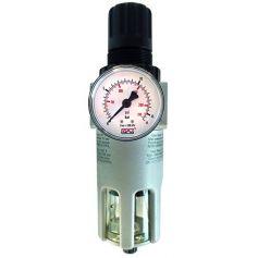 """Regulador y filtro con manometro fr200 3/8""""-1/2"""" cevik"""