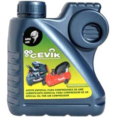 Bote aceite para compresores de pistón Cevik