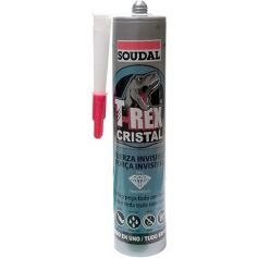 Sellador adhesivo t-rex cristal 290ml soudal