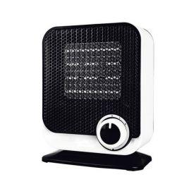 Calefactor vertical ceramico blanco/negro 750/1500w gsc