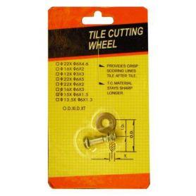 Rulina para cortador azulejos 13mm Mercatools