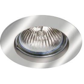Empotrable aluminio fijo redondo 50mm niquel ledinnova