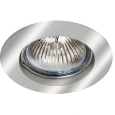 Empotrable de techo aluminio fijo redondo 50mm niquel LDV Lighting