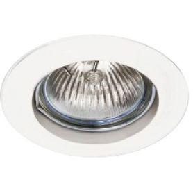 Empotrable aluminio fijo redondo 50mm blanco ledinnova