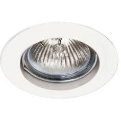 Empotrable de techo aluminio fijo redondo 50mm blanco LDV Lighting