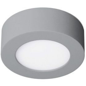 Downlight de superficie redondo led 6w 480lm 6000k cromo mate Ledinnova