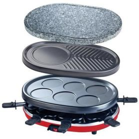 Raclette-Grill para 8 personas RP412 900W H.Koenig