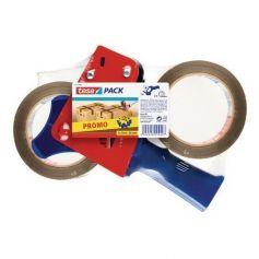 Cintas con dispensador - 2 unidades de cinta marrón Tesa