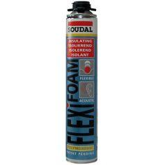 Espuma poliuretano acustica flexifoam 750 ml. (pistola) soudal