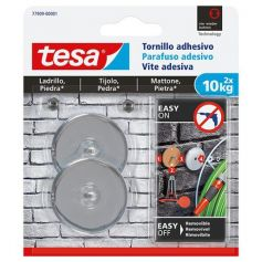 Tornillo adhesivo redondo para ladrillo y piedra 2x10kg Tesa