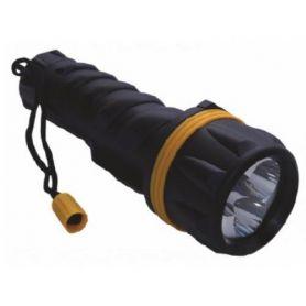 Linterna plástico 3 LED M3 (2 pilas D) Mercatools